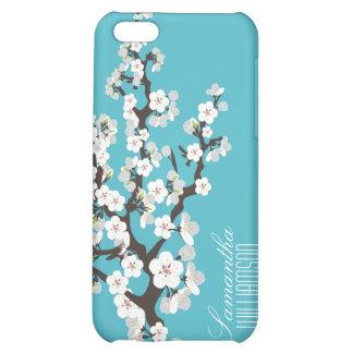 Flor de cerezo 4 (aguamarina)