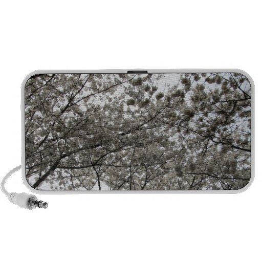 Flor de cerezo altavoces de viajar