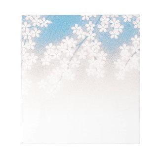 Flor de cerezo blocs de papel