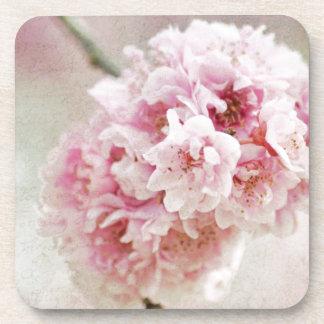 Flor de cerezo botánica posavasos