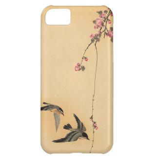 Flor de cerezo con los pájaros de Ohara Koson