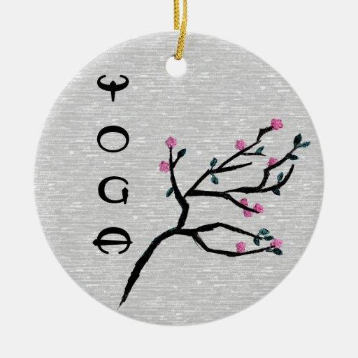Flor de cerezo - decoración de la yoga adorno