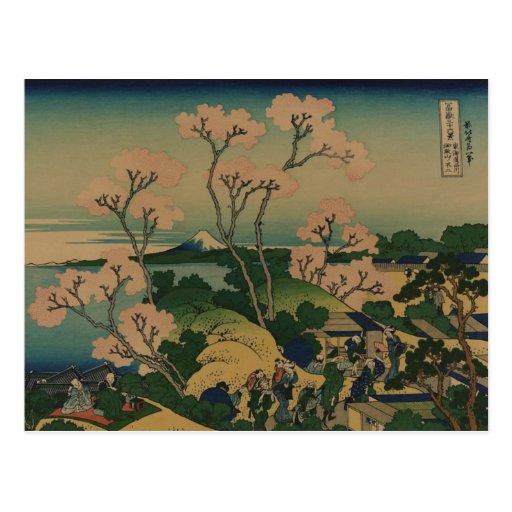 Flor de cerezo en Shinagawa Postales