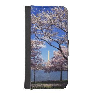 Flor de cerezo en Washington DC Billetera Para iPhone 5