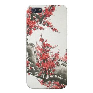 Flor de cerezo iPhone 5 cárcasa