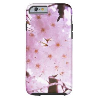 Flor de cerezo funda resistente iPhone 6