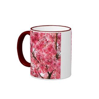 Flor de cerezo japonesa (2013) taza de dos colores