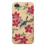 Flor de cerezo japonesa adaptable iPhone 4/4S carcasa