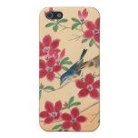 Flor de cerezo japonesa adaptable iPhone 5 carcasas