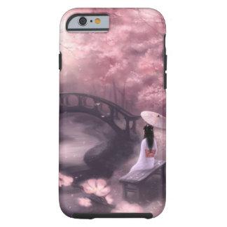 Flor de cerezo japonesa funda para iPhone 6 tough