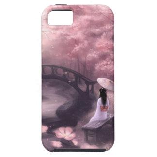 Flor de cerezo japonesa iPhone 5 funda