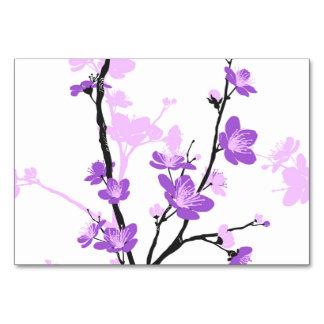 Flor de cerezo japonesa, púrpura real, flor, chica