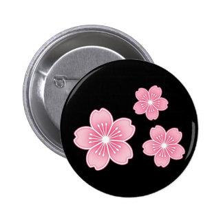 Flor de cerezo pins