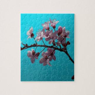 Flor de cerezo rompecabeza con fotos