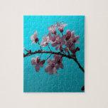 Flor de cerezo puzzle con fotos