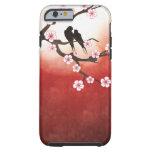 Flor de cerezo Sakura y amor Birdscase