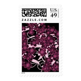 Flor de cerezo sellos