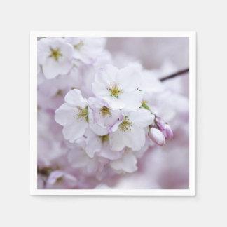 Flor de cerezo servilleta desechable