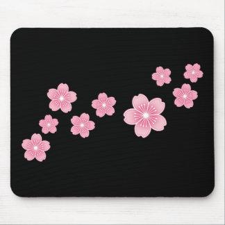 Flor de cerezo tapetes de raton