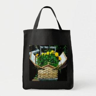 Flor de cesta Hagbag Bolsa