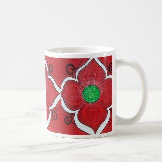 Flor de Chakra Lotus de la raíz Taza Clásica