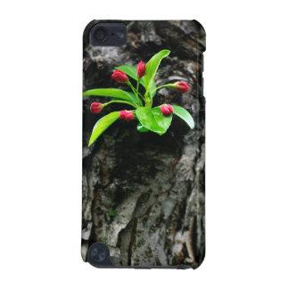 Flor de Crabapple en el caso del tacto de IPod de Funda Para iPod Touch 5