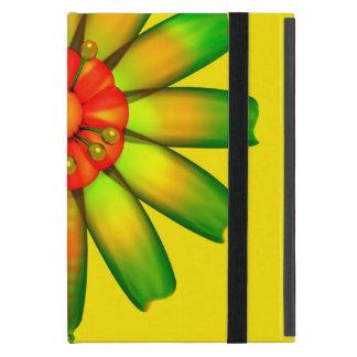 Flor de cristal abstracta iPad mini protectores