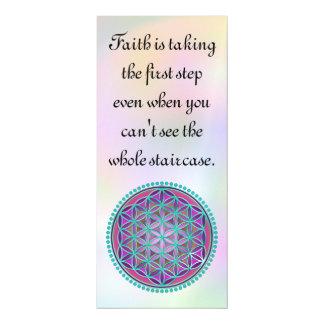 Flor de DES Lebens - botón VI de la vida/de Blume Invitaciones Magnéticas