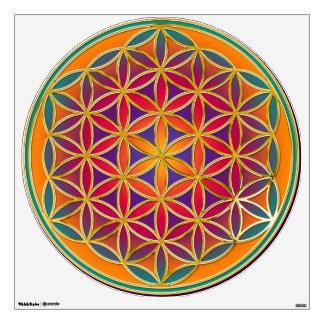 Flor de DES Lebens de la vida/de Blume - colorido