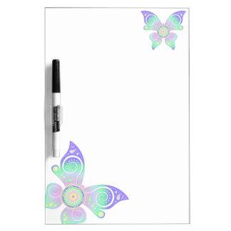 Flor de DES Lebens - mariposa de la vida/de Blume Pizarras