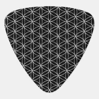 Flor de DES Lebens - modelo de plata de la vida/de Plumilla De Guitarra
