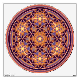 Flor de DES Lebens - naranja de la vida/de Blume d Vinilo