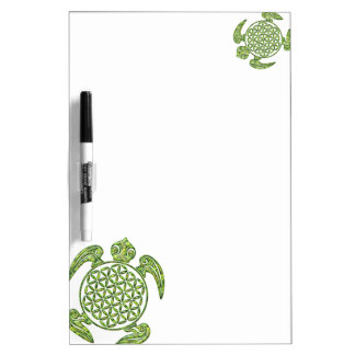 Flor de DES Lebens - verde de la vida/de Blume de Pizarra Blanca