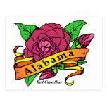 Flor de estado de Alabama Postal