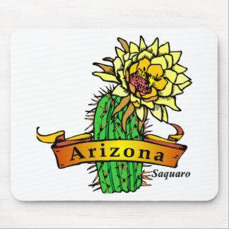 Flor de estado de Arizona - Saguaro Alfombrillas De Ratón