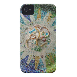 Flor de Gaudi iPhone 4 Case-Mate Protector