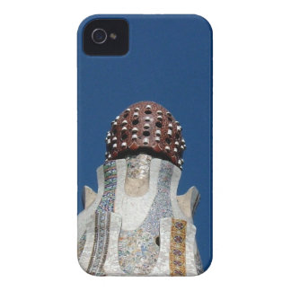 Flor de Gaudi iPhone 4 Case-Mate Cobertura