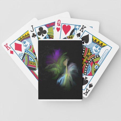 Flor de hadas barajas de cartas