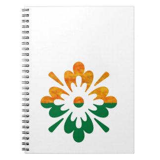 Flor de HappyDance: Disfrute de la parte de n la a Libreta Espiral