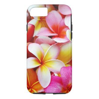 Flor de Hawaii del Frangipani del Plumeria Funda iPhone 7