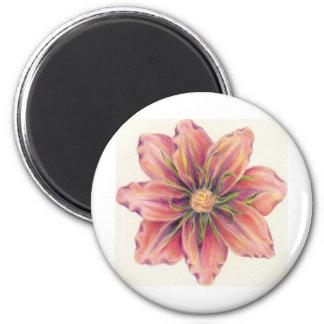 Flor de Jill Imán Redondo 5 Cm