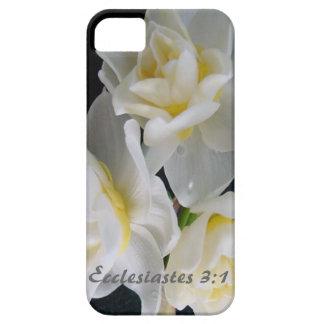 Flor de Jonquil - 3:1 de Ecclesiastes iPhone 5 Case-Mate Carcasa