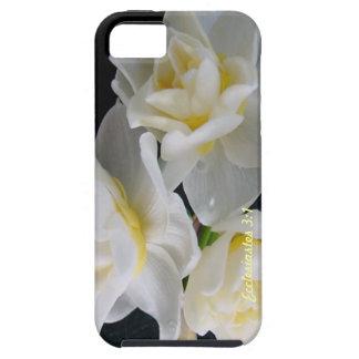 Flor de Jonquil - 3:1 de Ecclesiastes iPhone 5 Carcasa