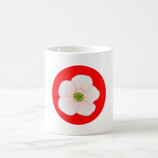 Flor de kirsch cherry blossom taza