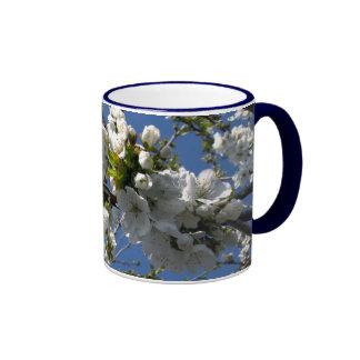 Flor de kirsch taza de café
