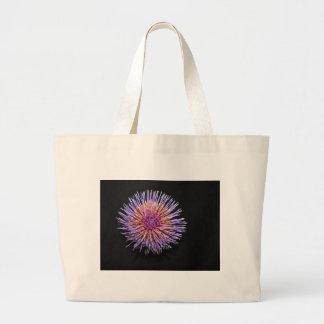 Flor de la alcachofa bolsa tela grande
