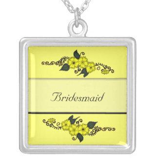 Flor de la alheña (amarillo) joyería