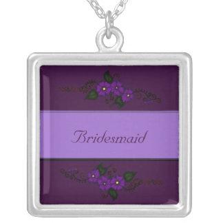 Flor de la alheña pendientes personalizados