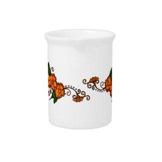 Flor de la alheña jarra