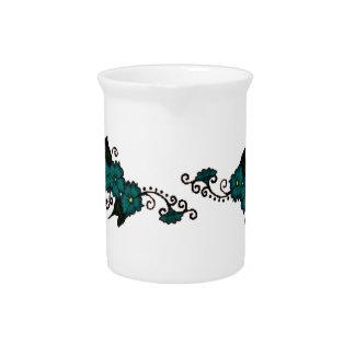 Flor de la alheña (trullo) jarras